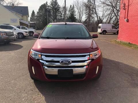 2013 Ford Edge for sale at WB Auto Sales LLC in Barnum MN