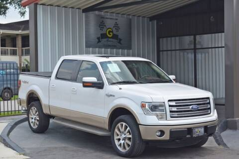 2014 Ford F-150 for sale at G MOTORS in Houston TX