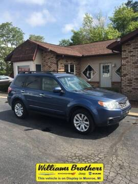 2011 Subaru Forester for sale at Williams Brothers - Pre-Owned Monroe in Monroe MI