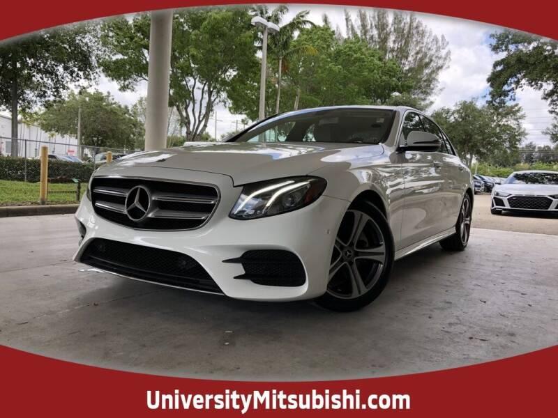 2018 Mercedes-Benz E-Class for sale at FLORIDA DIESEL CENTER in Davie FL