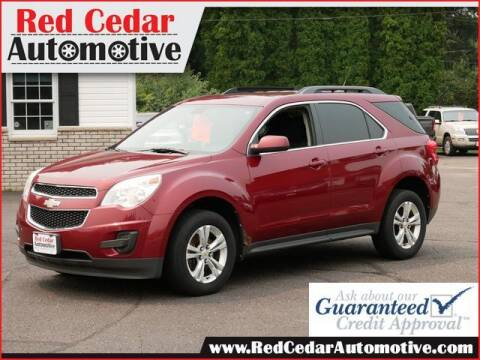 2010 Chevrolet Equinox for sale at Red Cedar Automotive in Menomonie WI