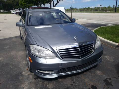 2012 Mercedes-Benz S-Class for sale at LAND & SEA BROKERS INC in Deerfield FL