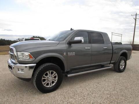 2013 RAM Ram Pickup 3500 for sale at MCKAIN MOTORS in Valley Mills TX