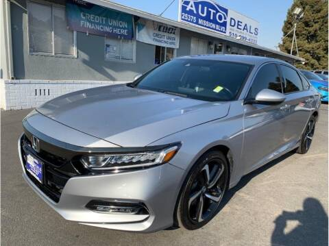 2019 Honda Accord for sale at AutoDeals in Hayward CA