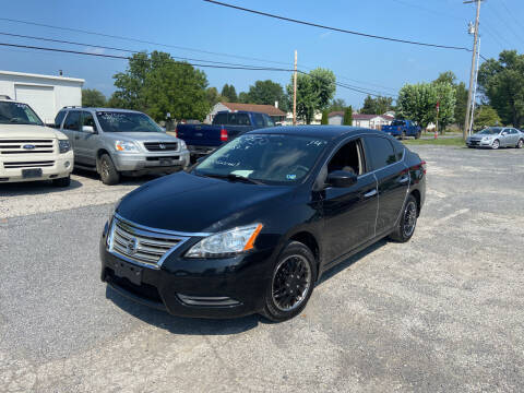 2014 Nissan Sentra for sale at US5 Auto Sales in Shippensburg PA