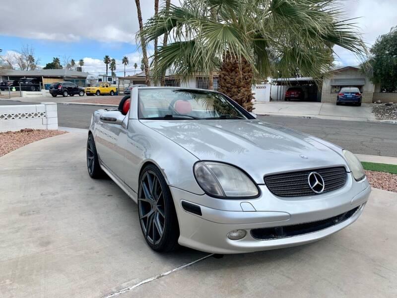 2003 Mercedes-Benz SLK for sale at CORTES MOTORS in Las Vegas NV