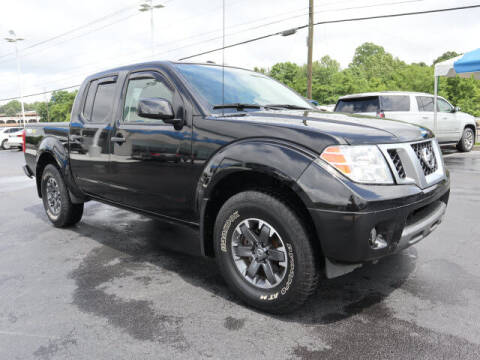 2018 Nissan Frontier for sale at RUSTY WALLACE HONDA in Knoxville TN