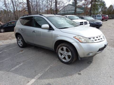 2005 Nissan Murano for sale at Official Auto Sales in Plaistow NH