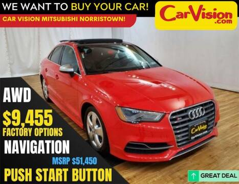 2015 Audi S3 for sale at Car Vision Mitsubishi Norristown in Trooper PA