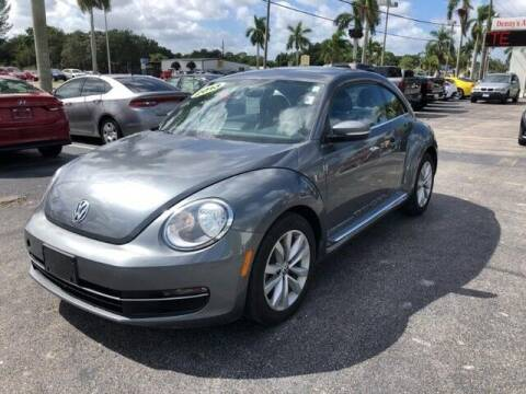 2013 Volkswagen Beetle for sale at Denny's Auto Sales in Fort Myers FL