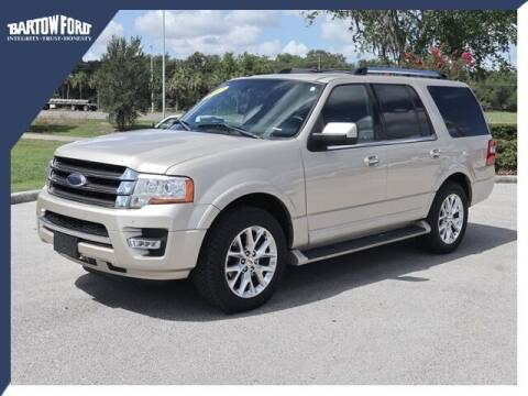 2017 Ford Expedition for sale at BARTOW FORD CO. in Bartow FL