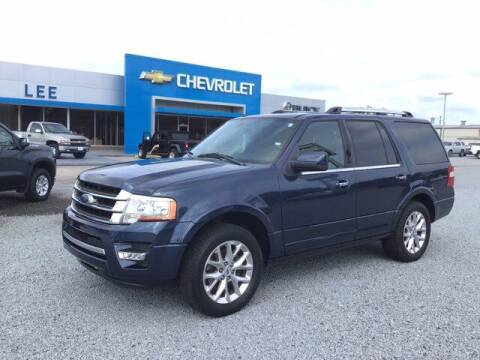 2016 Ford Expedition for sale at LEE CHEVROLET PONTIAC BUICK in Washington NC