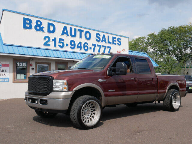2006 Ford F-250 Super Duty for sale at B & D Auto Sales Inc. in Fairless Hills PA