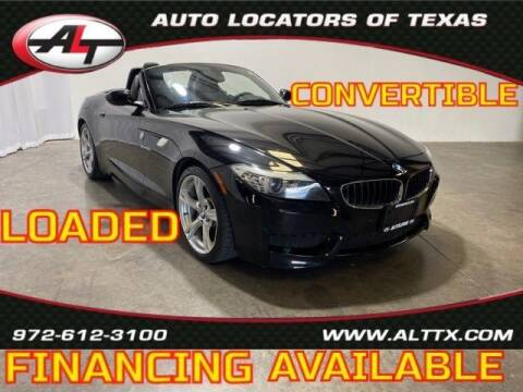 2013 BMW Z4 for sale at AUTO LOCATORS OF TEXAS in Plano TX
