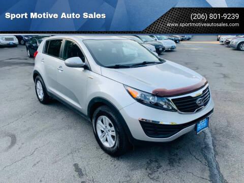 2011 Kia Sportage for sale at Sport Motive Auto Sales in Seattle WA