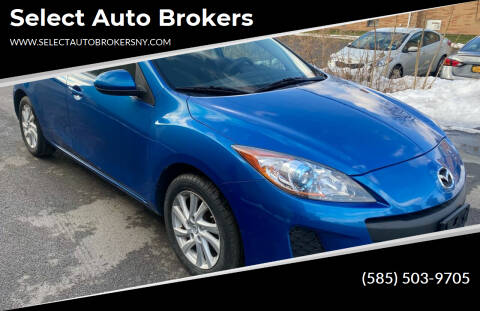 2012 Mazda MAZDA3 for sale at Select Auto Brokers in Webster NY