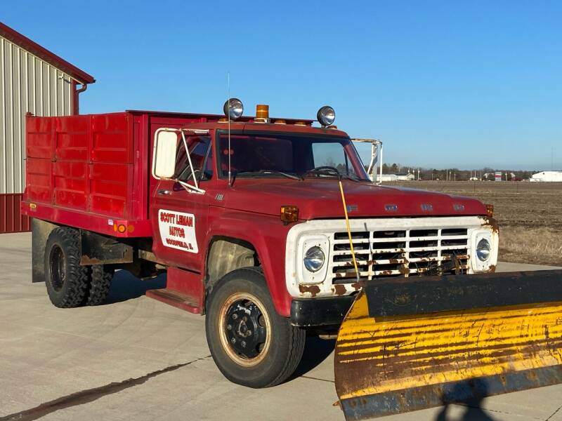 1978 Ford F-600 for sale at SCOTT LEMAN AUTOS in Goodfield IL