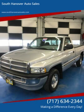 2001 Dodge Ram Pickup 1500 for sale at South Hanover Auto Sales in Hanover PA