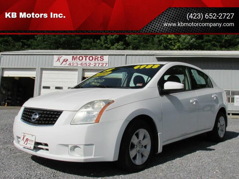 2008 Nissan Sentra for sale at KB Motors Inc. in Bristol VA