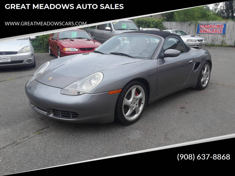 2001 Porsche Boxster for sale at GREAT MEADOWS AUTO SALES in Great Meadows NJ