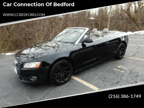 2010 Audi A5 for sale at Car Connection of Bedford in Bedford OH