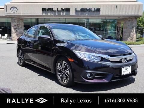 2016 Honda Civic for sale at RALLYE LEXUS in Glen Cove NY
