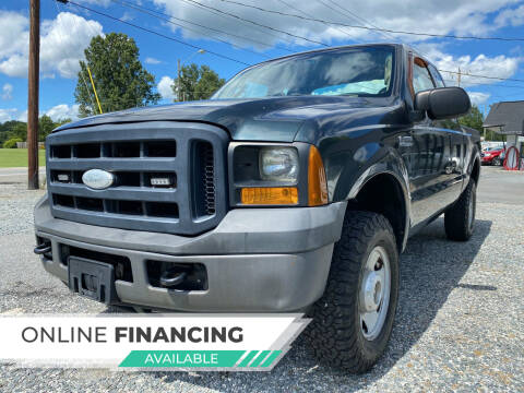 2006 Ford F-250 Super Duty for sale at Auto Store of NC in Walkertown NC