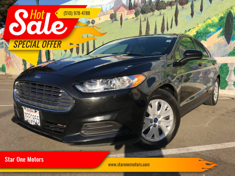 2014 Ford Fusion for sale at Star One Motors in Hayward CA