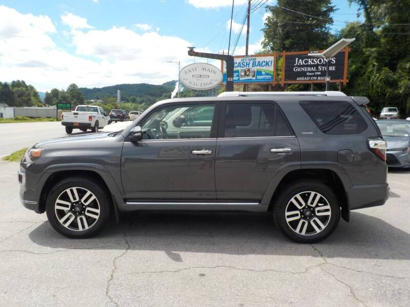2018 Toyota 4Runner for sale at EAST MAIN AUTO SALES in Sylva NC