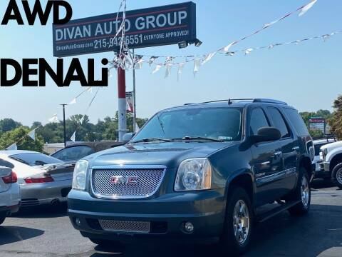 2007 GMC Yukon for sale at Divan Auto Group in Feasterville Trevose PA