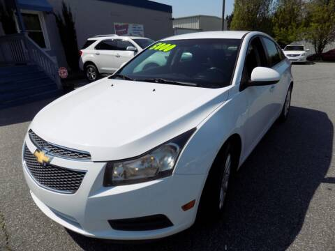 2011 Chevrolet Cruze for sale at Pro-Motion Motor Co in Lincolnton NC