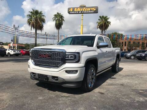 2018 GMC Sierra 1500 for sale at A MOTORS SALES AND FINANCE in San Antonio TX