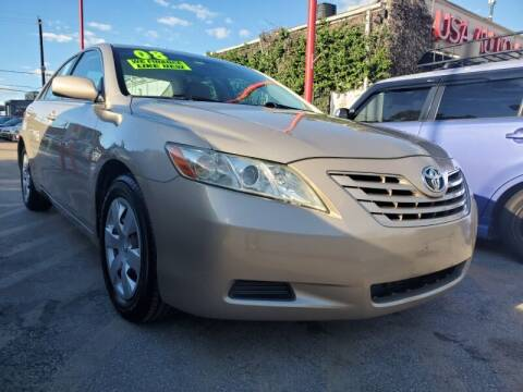 2008 Toyota Camry for sale at USA Auto Brokers in Houston TX