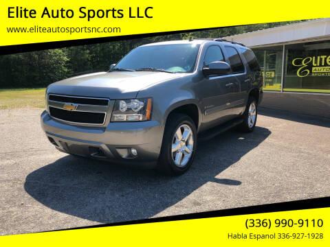2009 Chevrolet Tahoe for sale at Elite Auto Sports LLC in Wilkesboro NC
