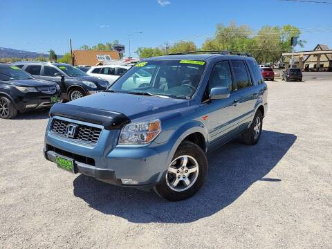 2007 Honda Pilot for sale at Canyon View Auto Sales in Cedar City UT