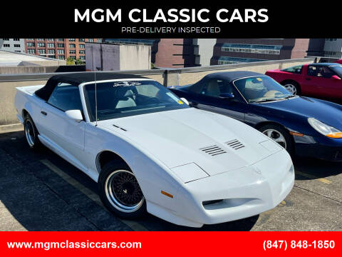 1991 Pontiac Trans Am for sale at MGM CLASSIC CARS-New Arrivals in Addison IL