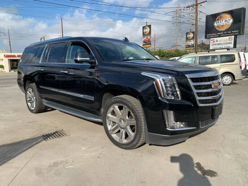 2016 Cadillac Escalade ESV for sale at Best Buy Quality Cars in Bellflower CA