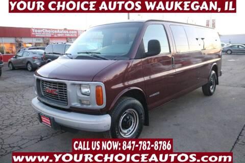 2000 GMC Savana Passenger for sale at Your Choice Autos - Waukegan in Waukegan IL