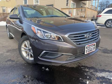 2016 Hyundai Sonata for sale at PRNDL Auto Group in Irvington NJ