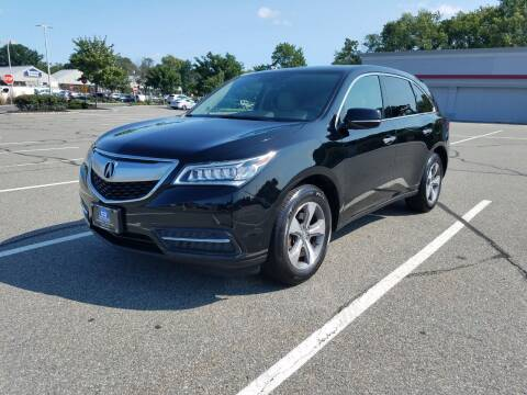2016 Acura MDX for sale at B&B Auto LLC in Union NJ