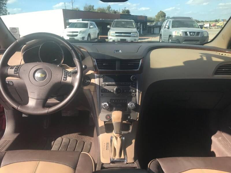 2012 Chevrolet Malibu LTZ 4dr Sedan w/1LZ - Lawton OK