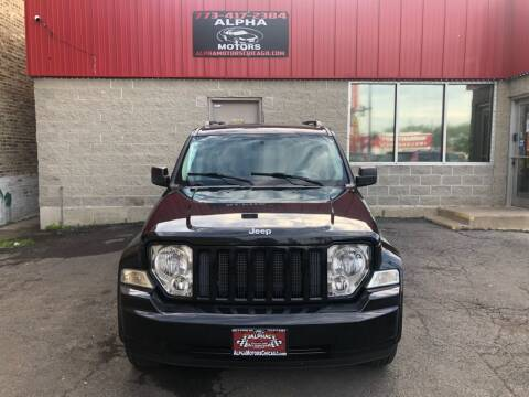 2008 Jeep Liberty for sale at Alpha Motors in Chicago IL