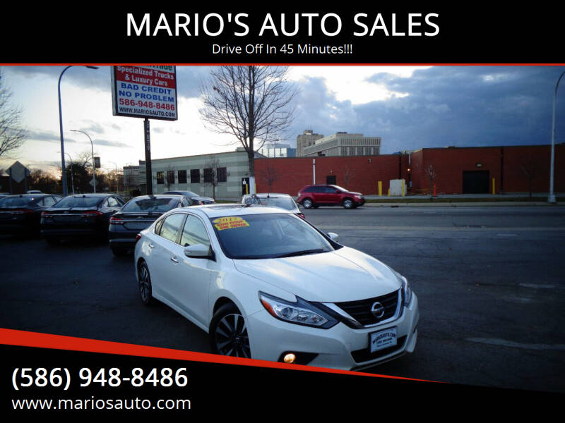 2017 Nissan Altima for sale at MARIO'S AUTO SALES in Mount Clemens MI