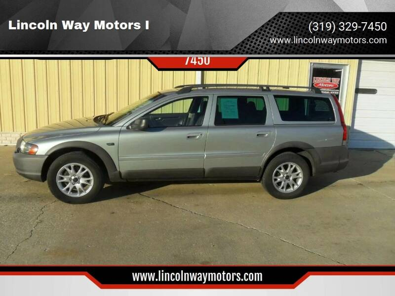 2004 Volvo XC70 for sale at Lincoln Way Motors I in Cedar Rapids IA