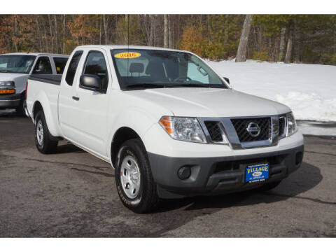 2016 Nissan Frontier for sale at VILLAGE MOTORS in South Berwick ME