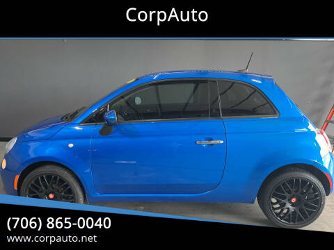 2016 FIAT 500 for sale at CorpAuto in Cleveland GA