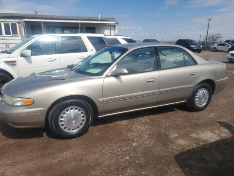 2000 Buick Century for sale at PYRAMID MOTORS - Fountain Lot in Fountain CO