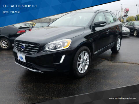 2016 Volvo XC60 for sale at THE AUTO SHOP ltd in Appleton WI