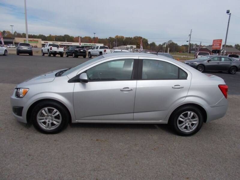 2012 Chevrolet Sonic for sale at West TN Automotive in Dresden TN