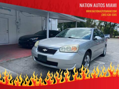 2006 Chevrolet Malibu for sale at Nation Autos Miami in Hialeah FL